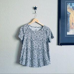 Animal print tee shirt